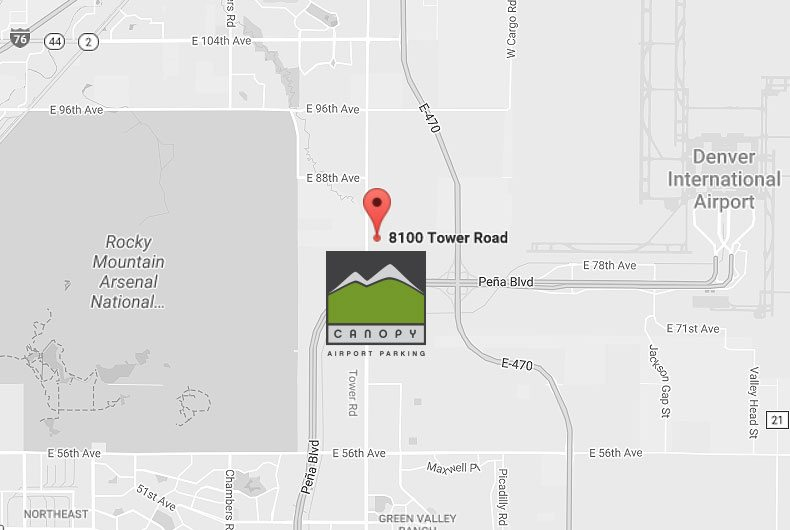 Denver International Airport Parking  sc 1 th 184 & Denver Airport Parking Facility | Canopy Airport Parking