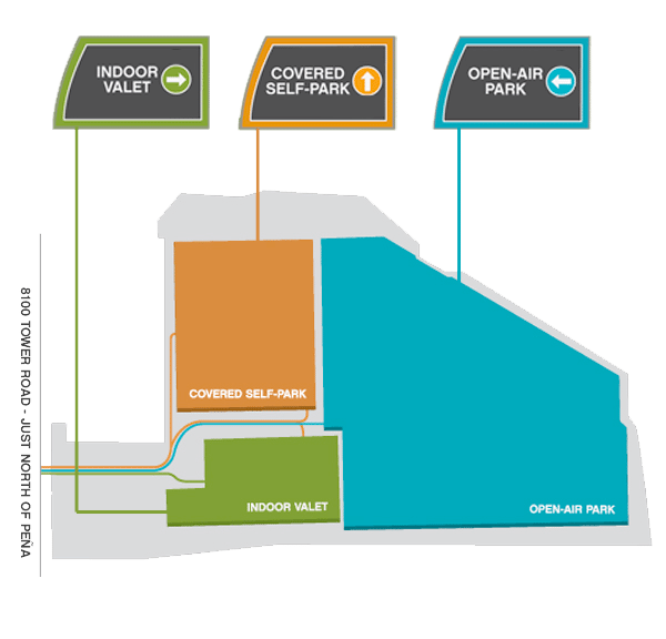 Denver Airport Parking Rates | Canopy Airport Parking® on