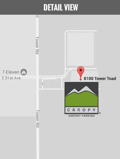 Denver Airport Parking (DEN) | Canopy Airport Parking on
